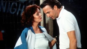 Susan Sarandon and Kevin Costner were perfect in Bull Durham.