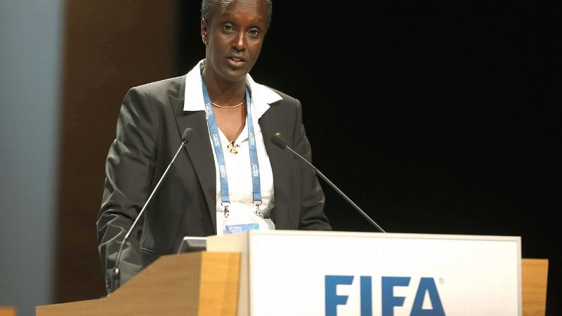 FIFA was founded in 1904. In 2013, Lydia Nsekera of Burundi became the first woman elected to the 24-member FIFA executive board.