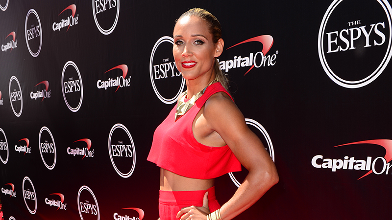 U.S. Olympian Lolo Jones walked the red carpet at The ESPYS.
