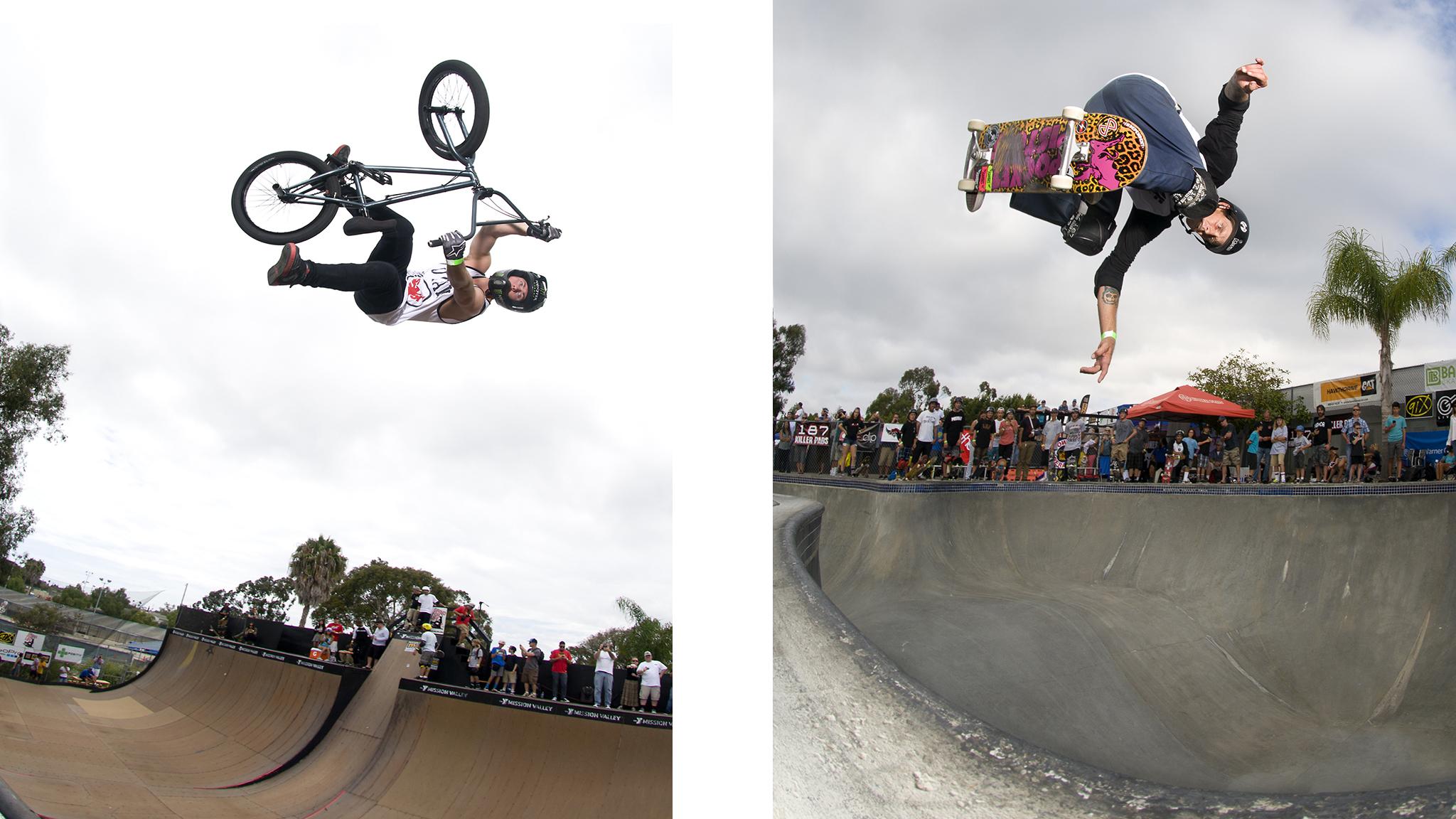BMX vs. Skate