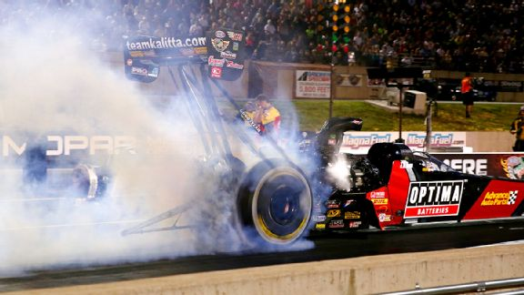 J.R. Todd registered his first Top Fuel victory since 2008 at last week's Mopar Mile-High Nationals.