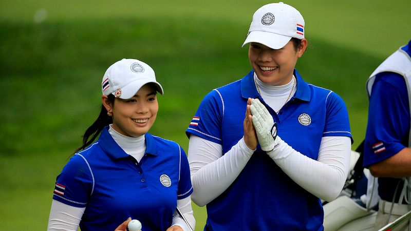 Ariya and older sis Moriya Jutanugarn have been playing on different tours this year but were reunited as teammates for Thailand at the International Crown.