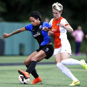 All four of Sydney Leroux's goals this season have been game-winning goals.