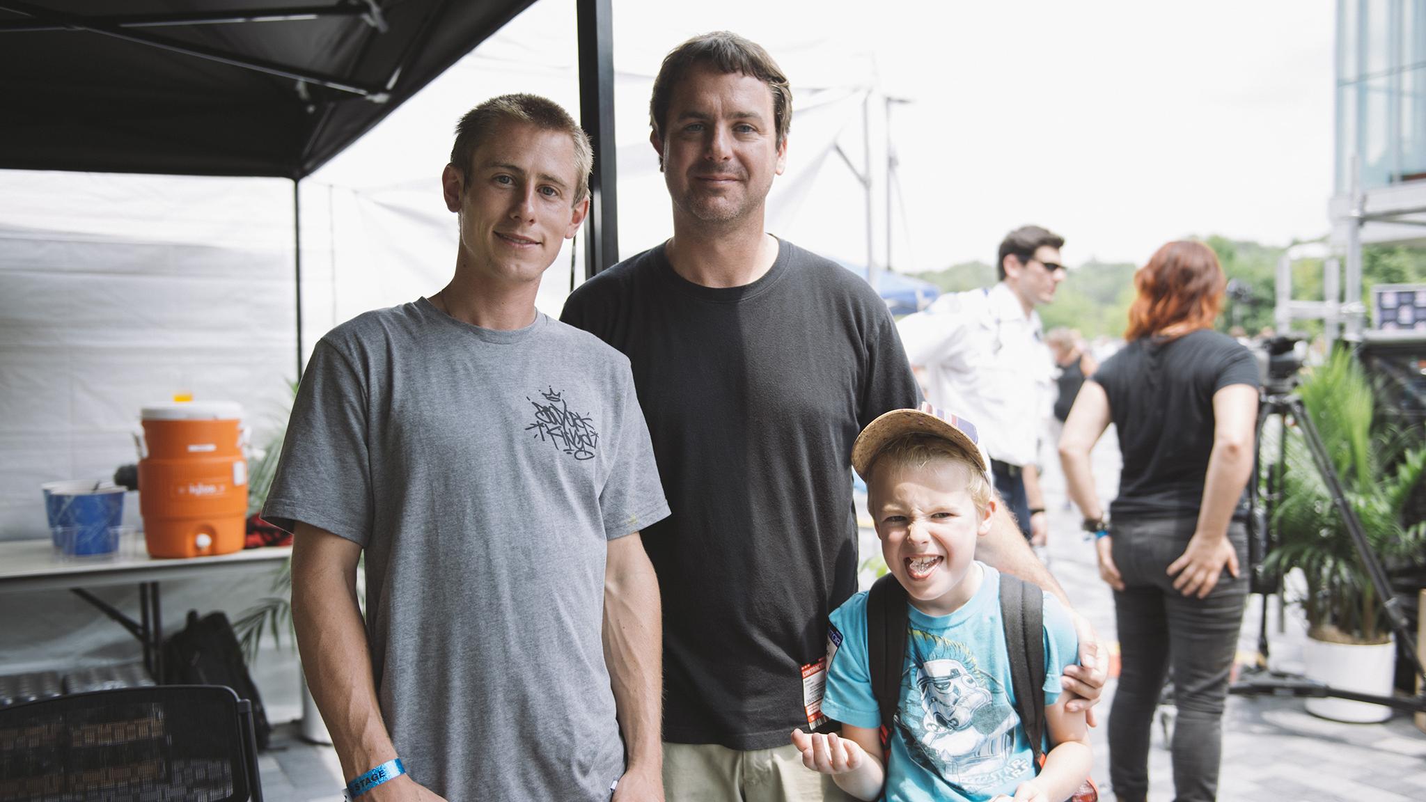 Brandon Westgate, Sean Cronan