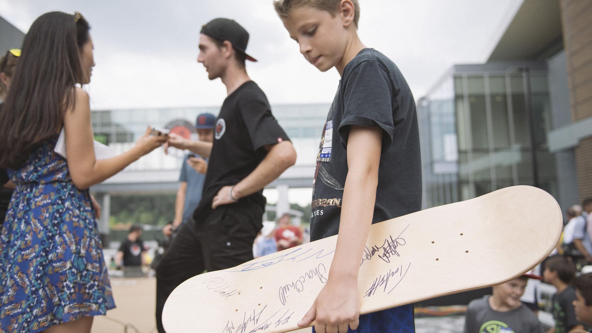 Game of Skate fans