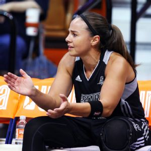 Becky Hammon is a six-time WNBA All-Star with San Antonio and New York who was named one of the league's top 15 players of all time in July 2011.