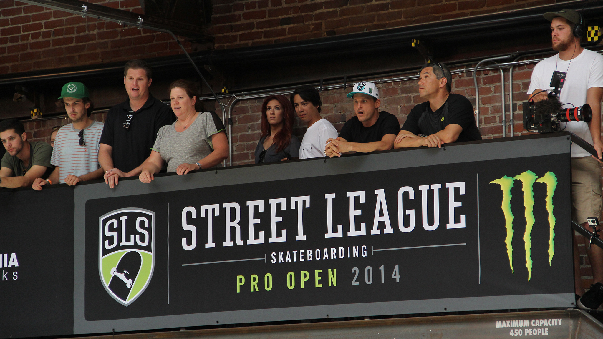 Street League creator Rob Dyrdek overlooks the 2014 Street League Pro Open in May. Through Dyrdek and Street League president Brian Atlas' efforts, skateboarding may see the spotlight of the Olympics before 2020.