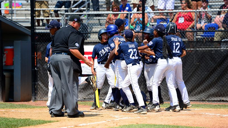 Taney Little League celebration