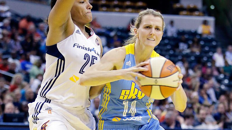 While Shoni Schimmel has had big moments for the Dream in her rookie campaign, Chicago guard Allie Quigley has proved to be the league's most consistent contributor off the bench this season. A five-year veteran playing for her fifth team, Quigley is averaging 10.8 points per game for the surging Sky. And she has upped the ante as Chicago has jelled again with Elena Delle Donne back on the floor, averaging 16.3 points the past four games. Quigley has done everything that GM/coach Pokey Chatman has asked this season, moving between point guard and shooting guard because of injuries, providing needed scoring punch while Delle Donne was out, and being a stabilizing force on a team that certainly needed one midseason. i-- MS/i