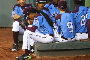 Mo'ne Davis managed six strikeouts but gave up three runs in Pennsylvania's 8-1 loss to Nevada in the Little League World Series on Wednesday.