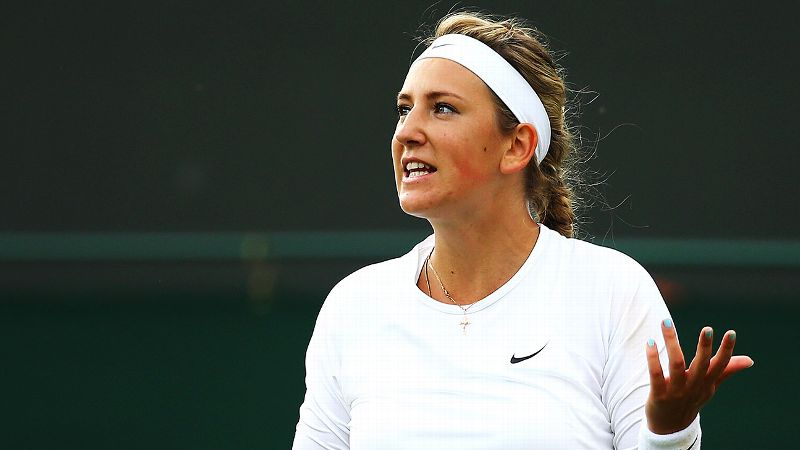 A year after going 43-9, winning her second Australian Open, and making it to the US Open final, Victoria Azarenka is just 10-7 this year.