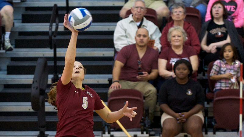 Florida State junior outside hitter Nicole Walch led the Seminoles to victories at then-No. 7 Nebraska and Iowa State, getting 18 kills against both teams. She was named ACC player of the week.