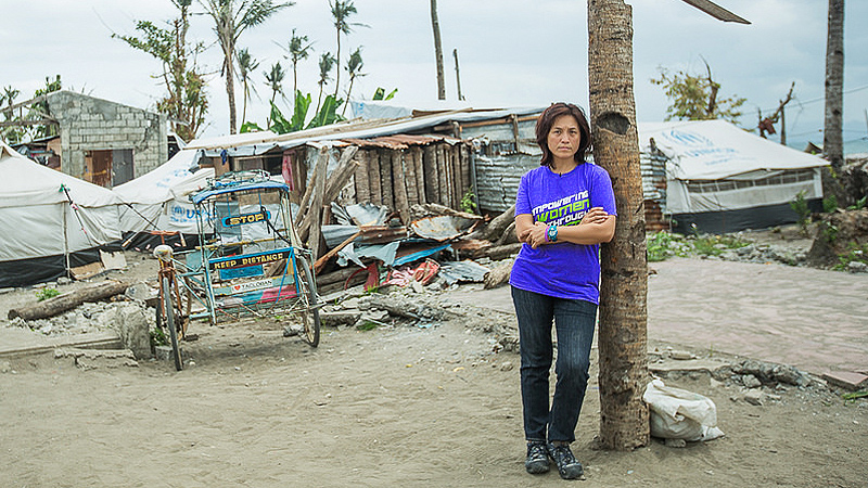 After Super Typhoon Haiyan killed thousands in the Philippines in 2013, Geraldine Bernardo worked to help heal communities using sports intervention.