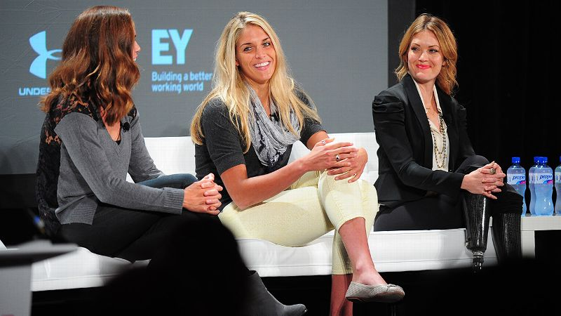 2014 espnW Women  Sports Summit: Natalie Coughlin, Elena Delle Donne and Amy Purdy