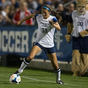 NCAA Women's Soccer: Ashley Hatch leads BYU with five assists this season.