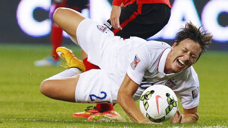 The United States struggled to finish until Abby Wambach headed in an Alex Morgan cross in the 54th minute.