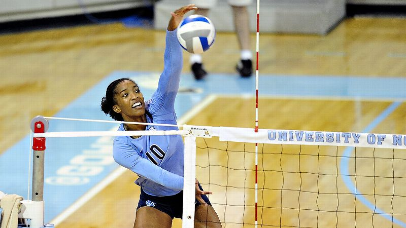 Senior Chaniel Nelson's all-around performance helped North Carolina sweep archrival Duke and ascend to No. 9 in the rankings.