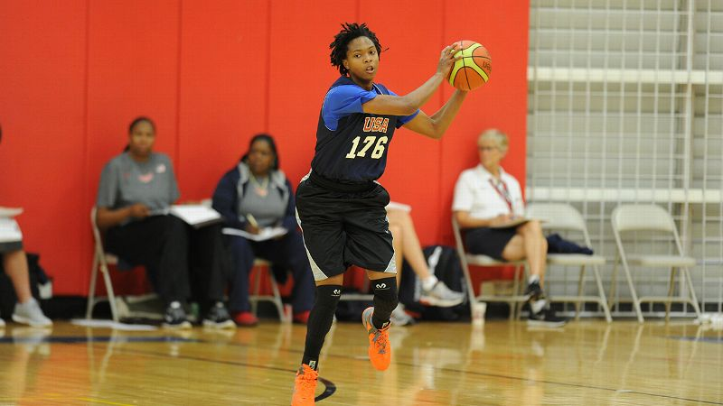 Chassity Carter, who won a gold medal on the USA U16 team in 2013, has committed to Vanderbilt in 2016.