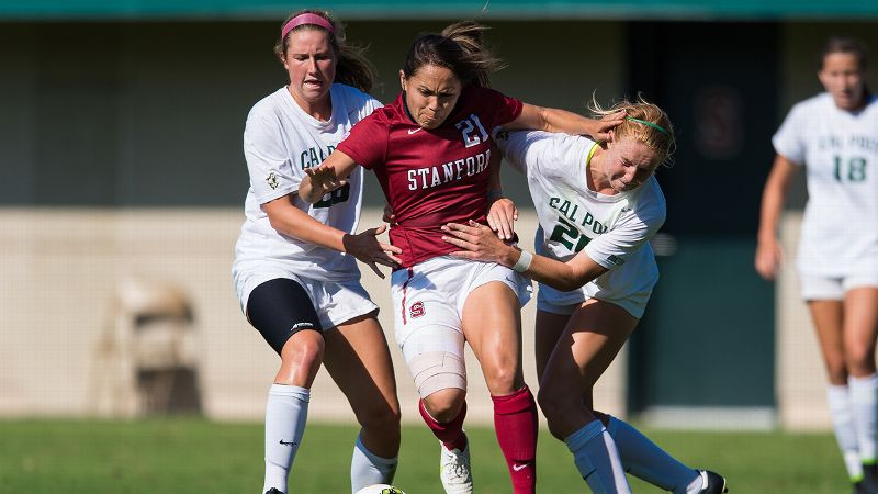 NCAA women soccer -- Lo'eau LaBonta