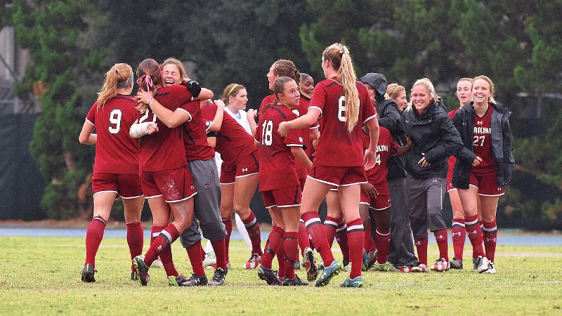 NCAA women's soccer -- South Carolina