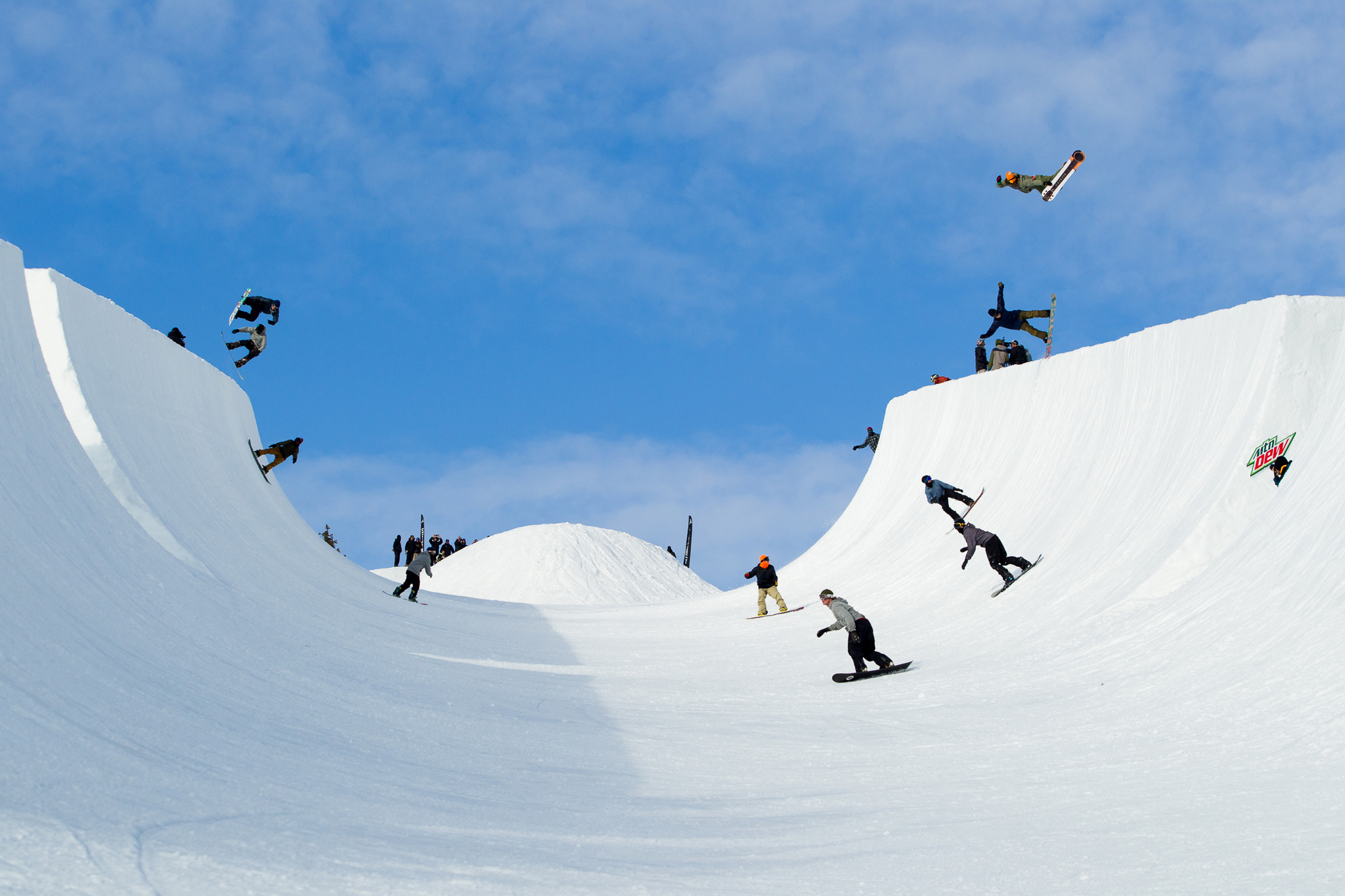 Volcano to superpipe