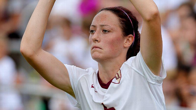 NCAA women's soccer -- Megan Campbell