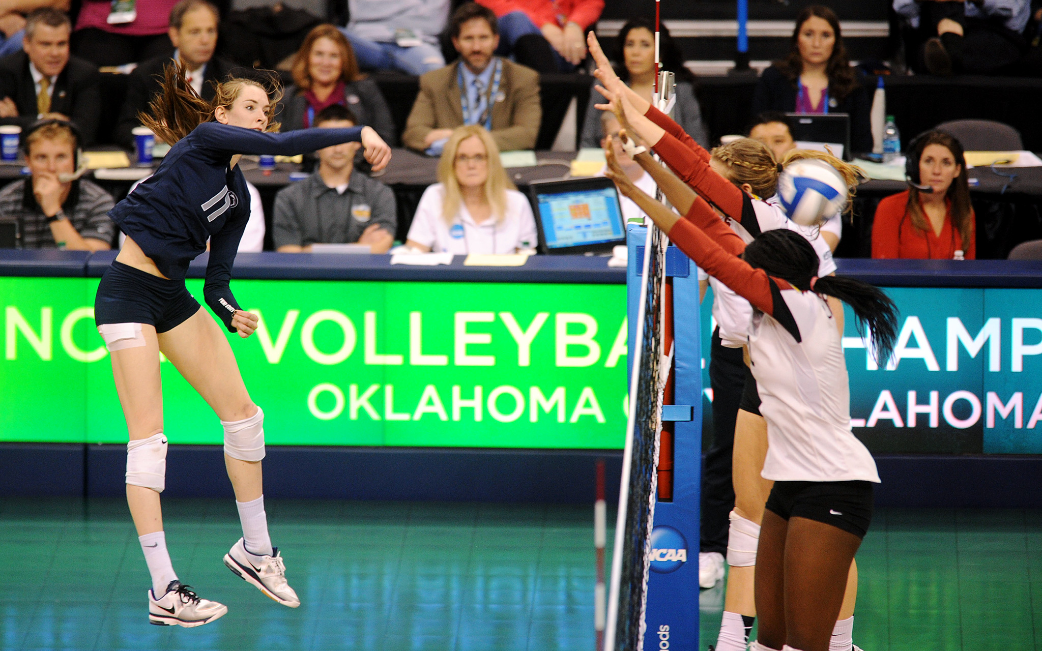 NCAA Volleyball Semifinals: Megan Courtney