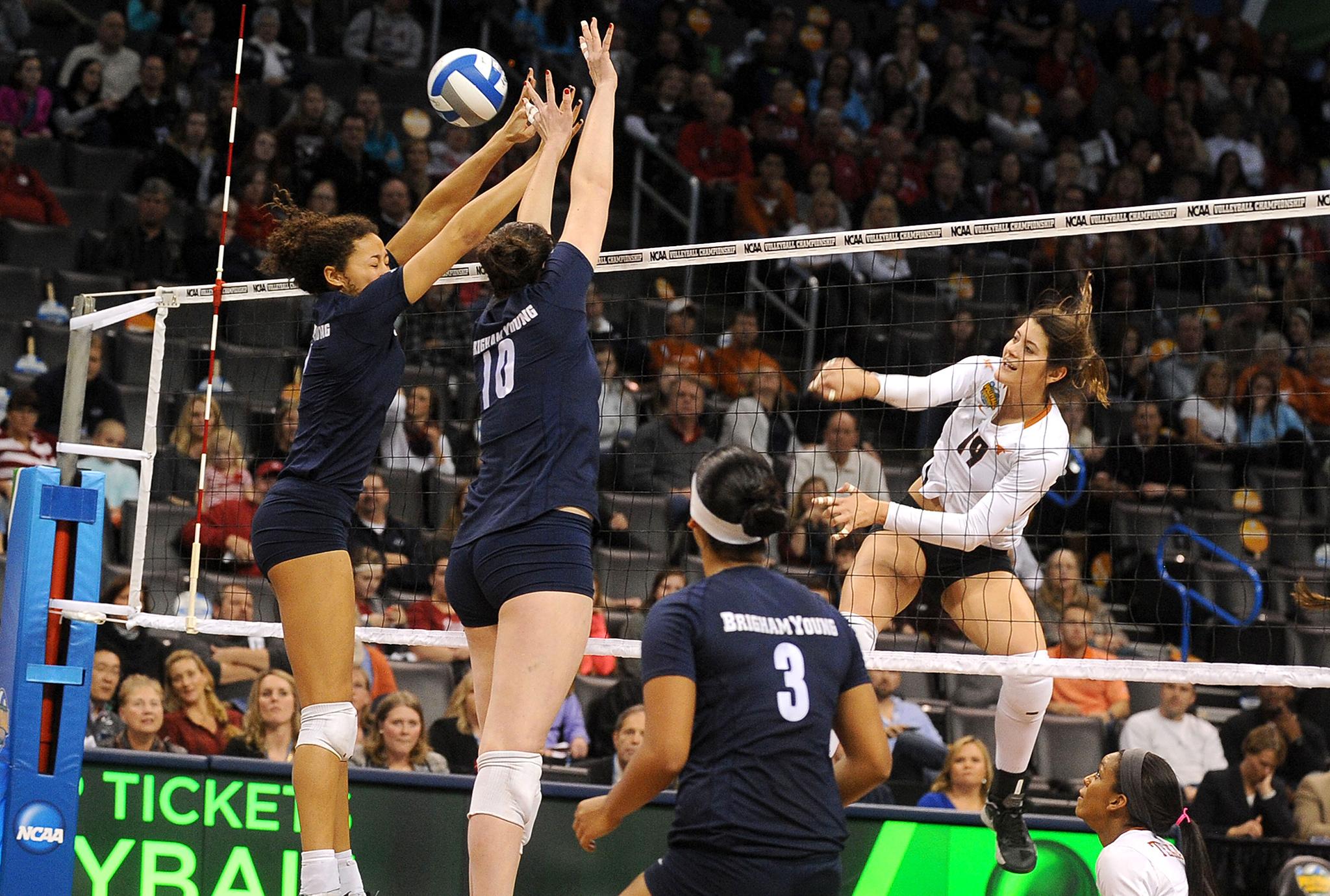 NCAA Volleyball Semifinals: Paulina Prieto Cerame