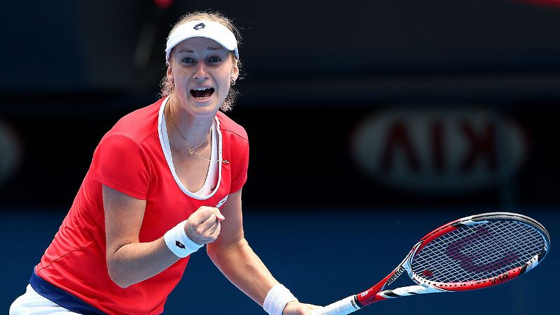 Pic of the Day: Ekaterina Makarova on Day 9