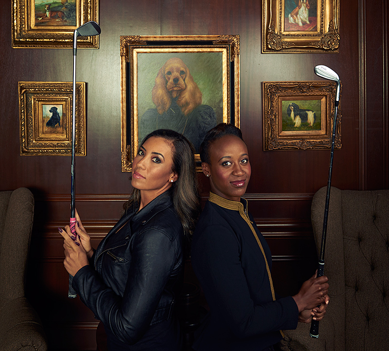 LPGA History Is Upon Us Sadena Parks And Cheyenne Woods Have Arrived