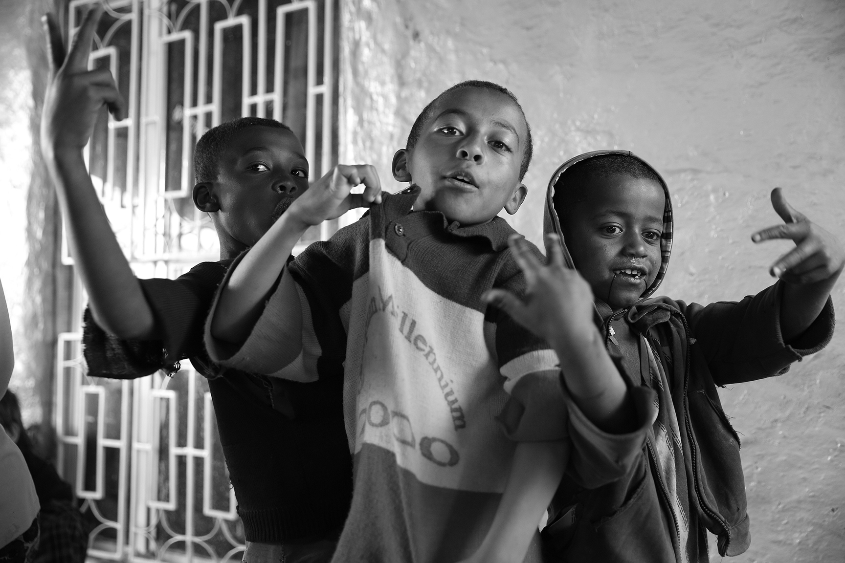 Children in Addis Ababa
