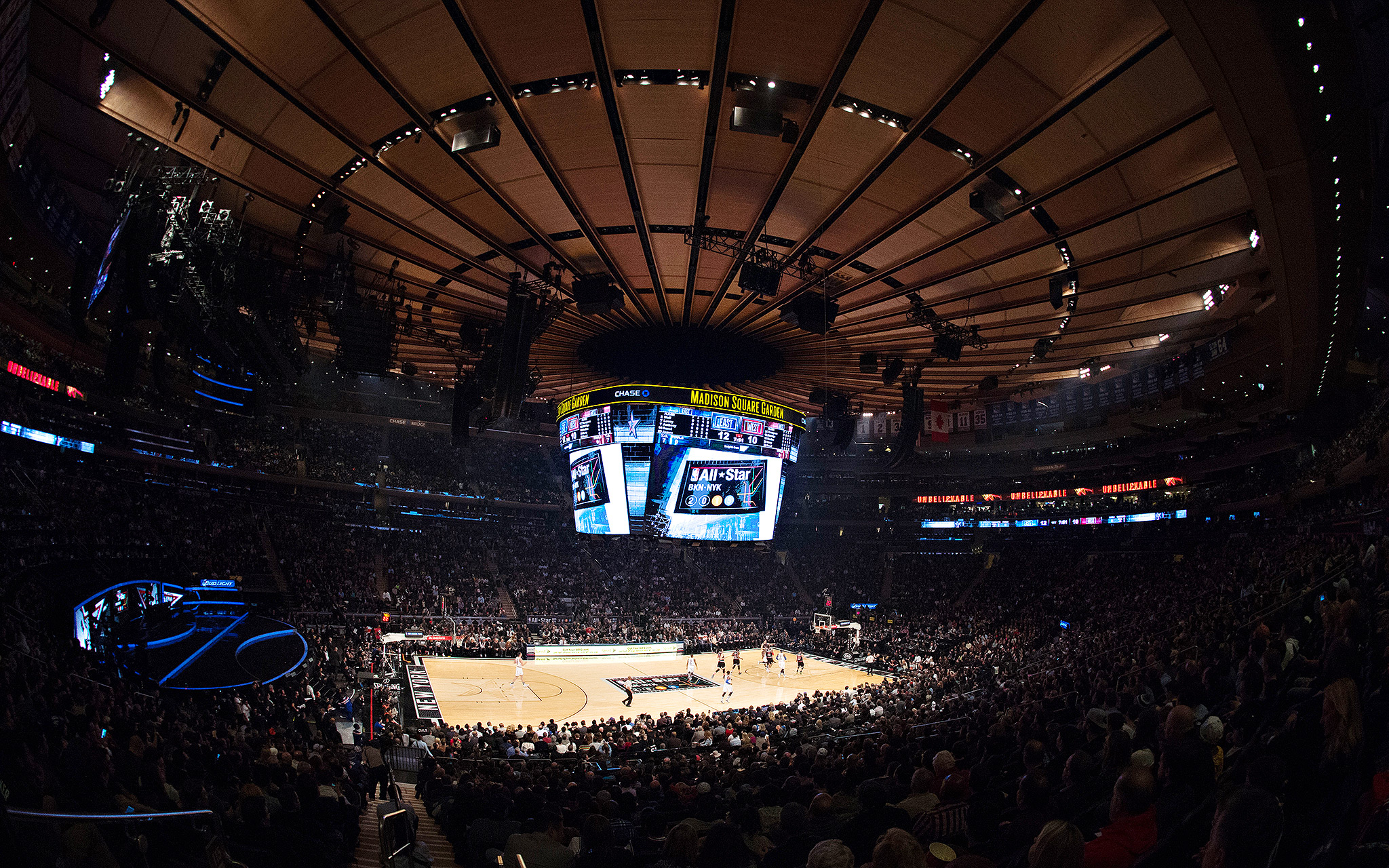 Madison Square Garden The Week In Pictures February 9 February 15 2015 Espn