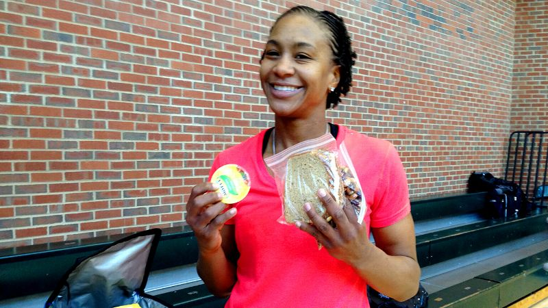 Tamika Catching's Lunch