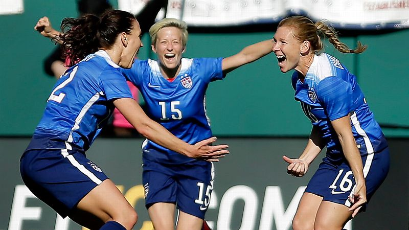 Lori Chalupny, Lauren Holiday, Megan Rapinoe