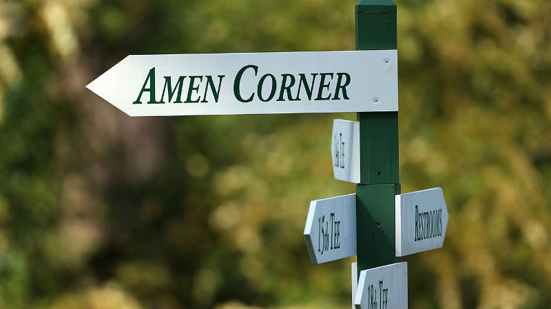 Amen corner, Augusta National, the Masters