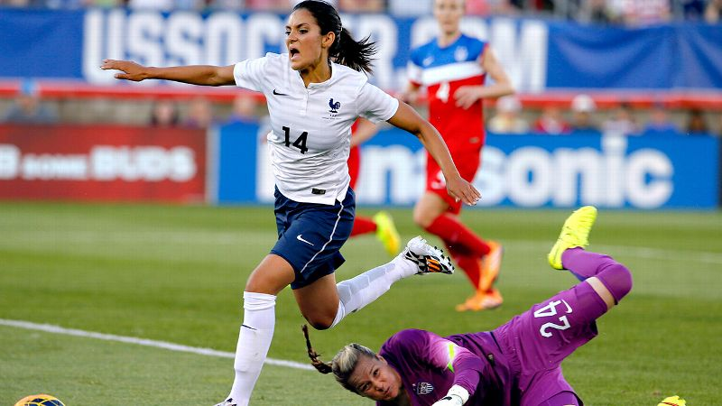The magician: Louisa Necib, France