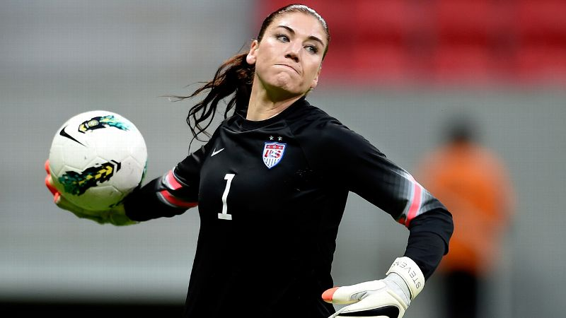 The newsmaker: Hope Solo, United States