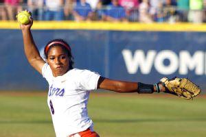 NCAA softball -- Aleshia Ocasio