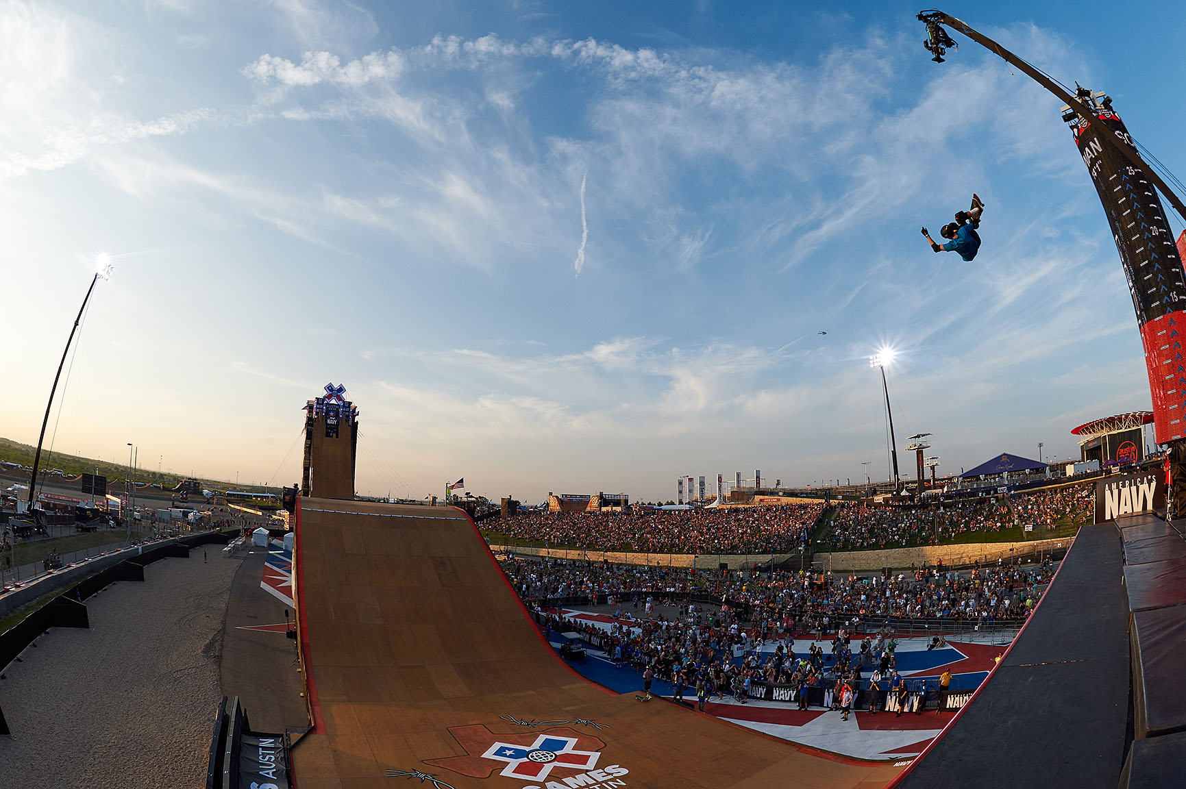 X Games Big Air Skateboard