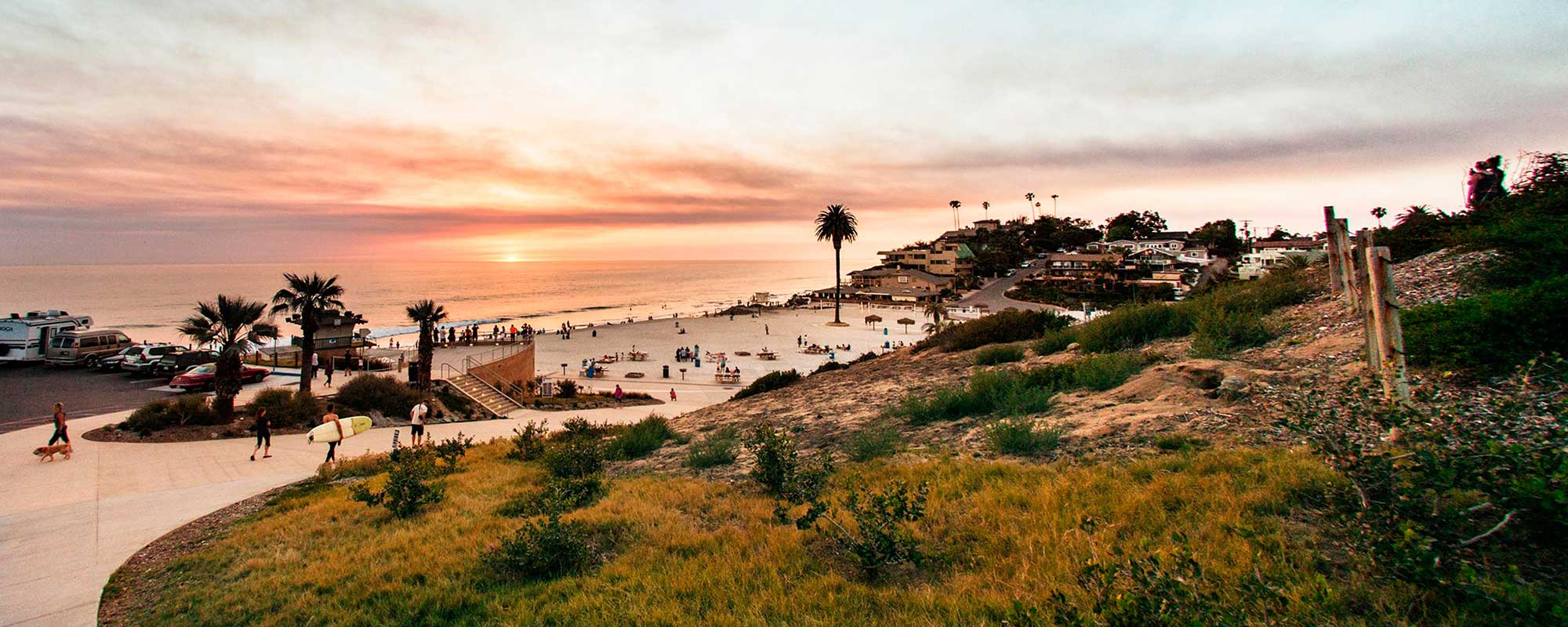 Best action sports towns -- Encinitas