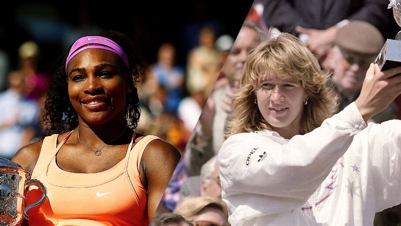 Serena Williams, Steffi Graf