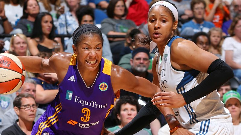 First Team: F Candace Parker, Los Angeles