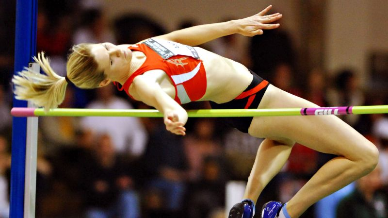 Amy Acuff has won 11 national titles in high jump -- and has only missed three world championships in the last 20 years.