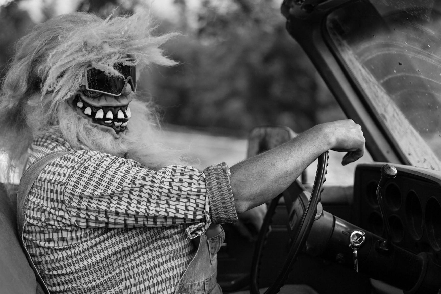 Masked driver