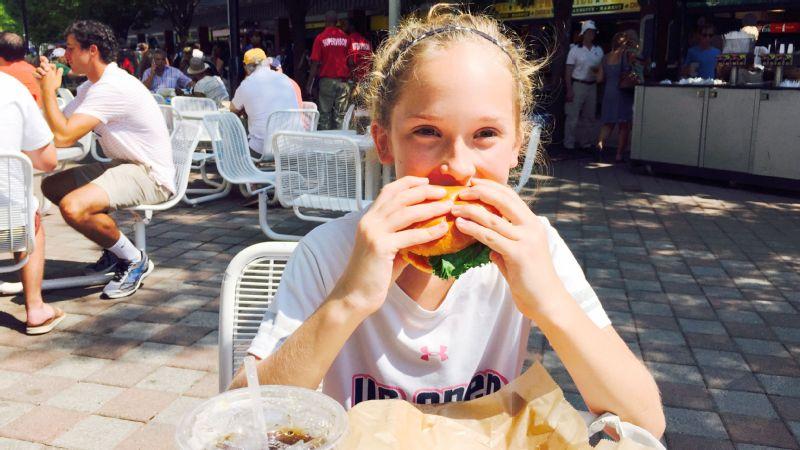 US Open food