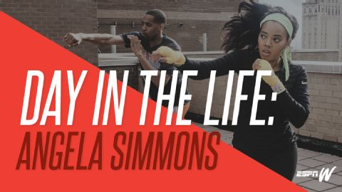 DAY IN THE LIFE - ANGELA SIMMONS