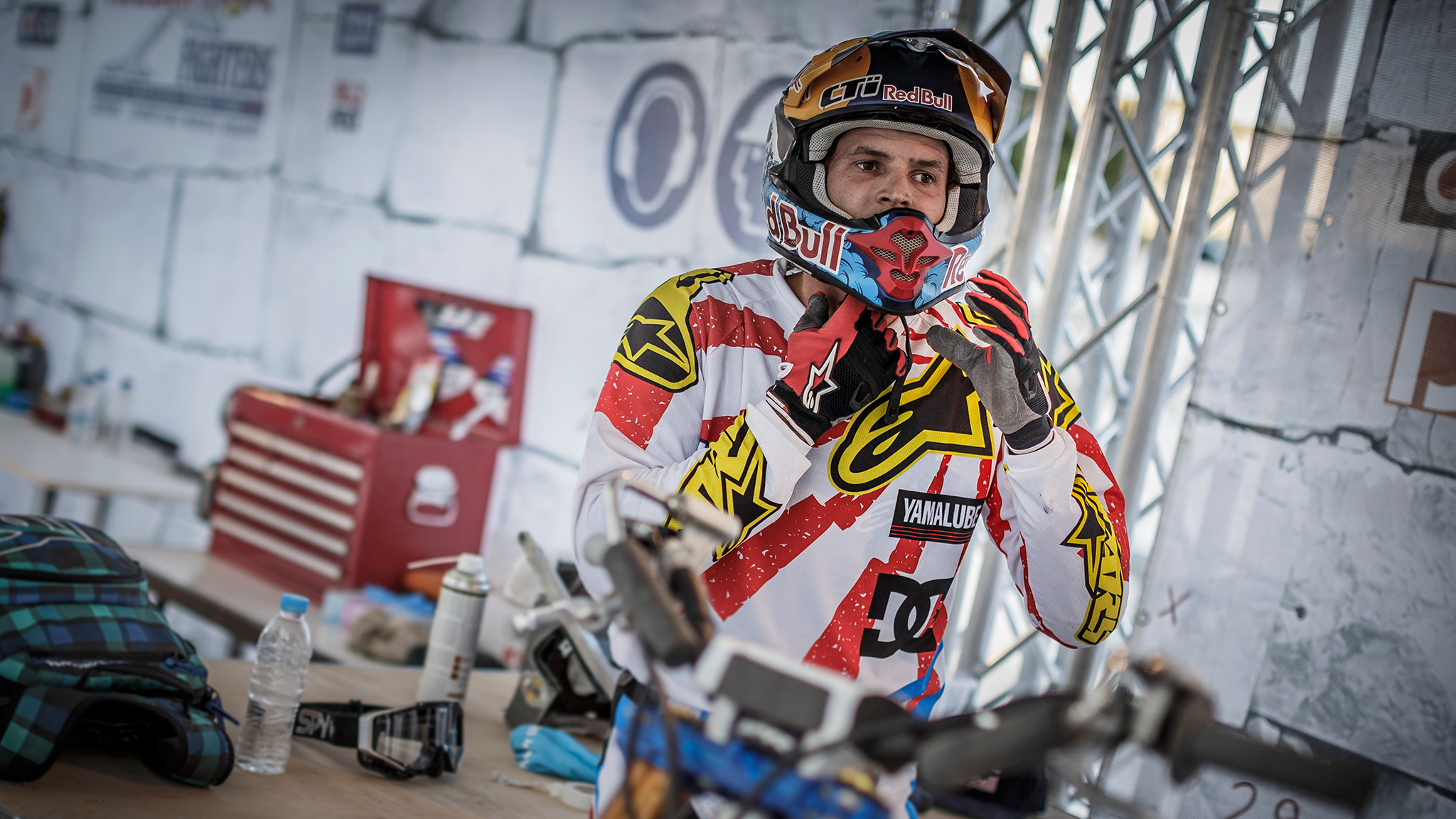 Motocross rider Thomas Pages