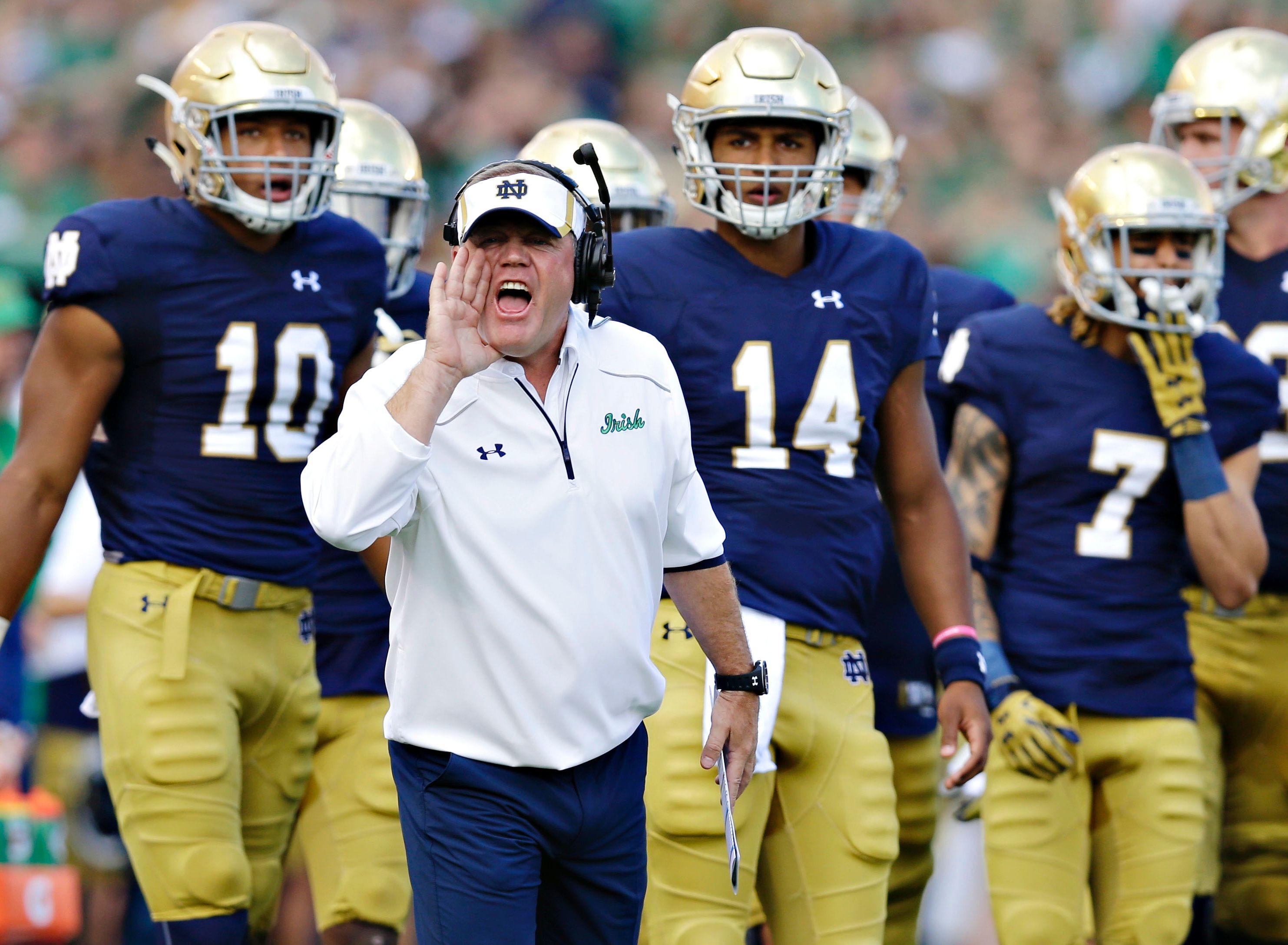 Kevin Sumlin, Brian Kelly, Jim Mora could move to the pros, reports ...