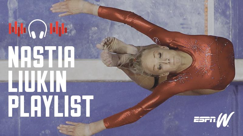 Spotify Athlete Playlist - Nastia Liukin