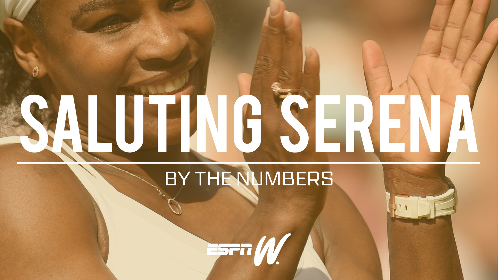 By The Numbers - Saluting Serena